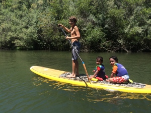 SUP on the Russian River